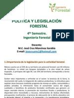 PRESENTACION LEGISLACION FORESTAL