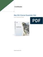 Server Essentials 10.6 Exam Prep