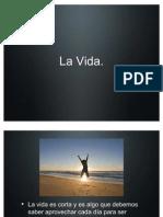diapositiva la vida