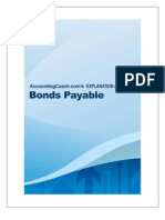 Bonds Payable Explanation