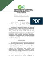Proposta Projeto de Lei - Produtividade Médicos Hospital da Polícia