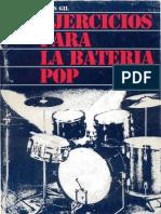 Ejercicios Para Bateria Pop Elias Gil