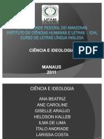 Seminário(Ciência e Ideologia)