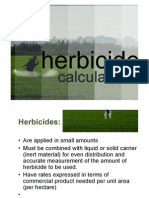Herbicide Calculation
