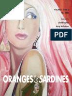 Oranges & Sardines, Issue 2, Fall 2008
