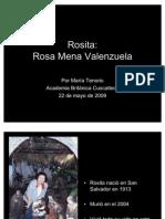 Rosa Mena Valenzuela