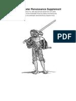 Warmaster Renaissance Armies
