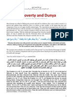 Of Poverty and Dunya