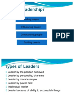 Traits of Leaders