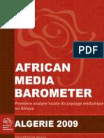 Baromètre des médias algériens 2009