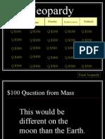 Density Jeopardy