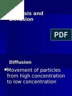 Venn Diagram On Osmosis And Diffusion