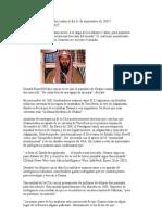 Dónde estuvo Osama Bin Laden el día 11 de septiembre de 2001