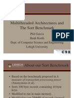 4 Best Paper - Multi Threaded Architectures and the Sort Benchmark