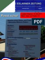 Die Erste Eslarner Zeitung, Ausgabe  09.2011 (September)
