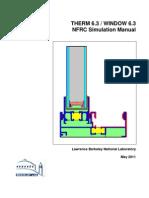 NFRCSim6.3 2011 Manual