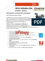 Toner original para Kyocera Mita TASKalfa 550c