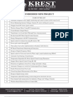 Krest EEE Mini Projects