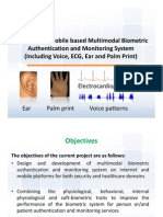 Multi Modal Biometric System (ECG, EAR, PALM PRINT)
