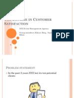 The Decline in Customer Satisfaction