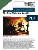 The Real Mahatma Gandhi