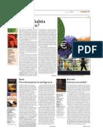 Jordi Terré - Dónde habita el hombre Sobre Sloterdijk Burbujas (El Periódico de Catalunya - 30 mayo 2003)