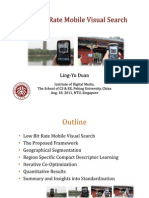 Low Bit Rate Mobile Visual Search