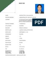 Tito Resume 2008
