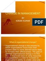 Change in Management