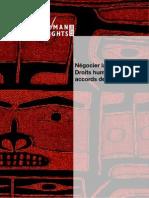 Négocier la justice? Droits humains et accords de paix (rapport)