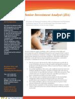 Junior Investment Analyst (JIA)