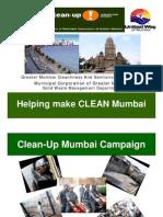 Clean-Up Mumbai Campaign, May 08