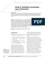 E-Banking in Transition Economies- the Case of Romania