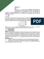 Coeficiente Phi