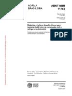 NBR11752 - Materiais Celulares de Poliestireno - EPS