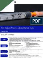 Market Research Report :Anti-Diabetic Pharmaceuticals Market in India