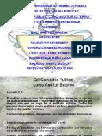 El CP Como Auditor Externo