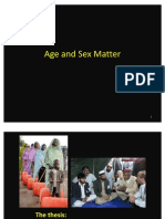 Sex and Age Matter (Presentation)