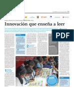 Innovación que enseña a leer