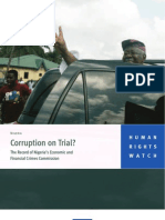 HRW_Corruption on Trial