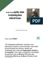 Verificacao Das Instalacoes Electric As