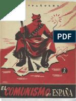 El Comunismo en España (1919-1936). Eduardo Comín Colomer