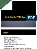 Basic PMOS-ExtJs Concepts