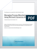 Formula Information for Process Manufacturing