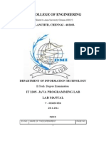 Java Lab Manual(22!8!11)