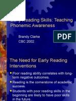 Early Reading Skills