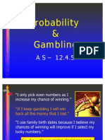 Gambling and Probability as 12.4.5