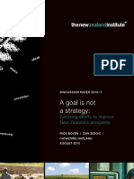 A Goal is Not a Strategy Full Report