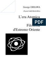 15079246 LEra Atomica e La Filosofia dEstremo Oriente George Ohsawa Nyoiti Yukikazu Sakurazawa