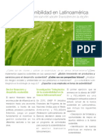 Folleto Banca y sostenibilidad en Latinoamérica ASOCIACIONES